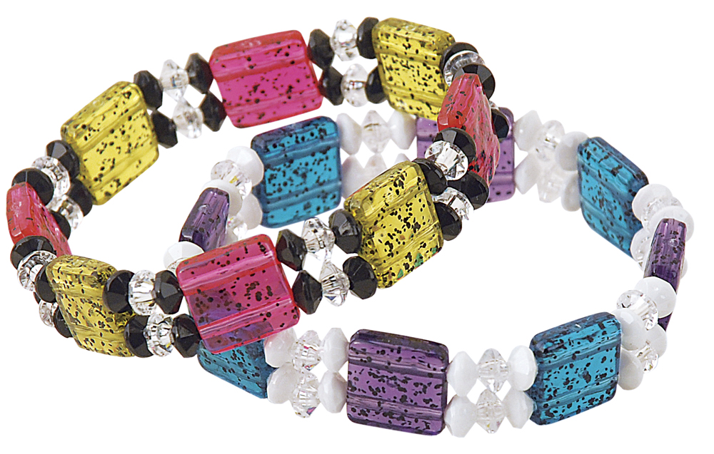 More Slide Bead Bracelets
