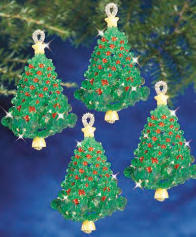 7212 – Emerald Tree Twist Ornament Kit - 7212 €� Emerald Tree Twist Ornament Kit The Beadery Craft Products